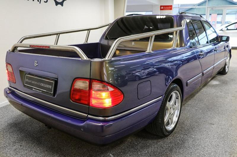 مرسيدس E Class بيك أب ليموزين هل حلمتم بسيارة مثل هذه في حياتكم هتلاقى