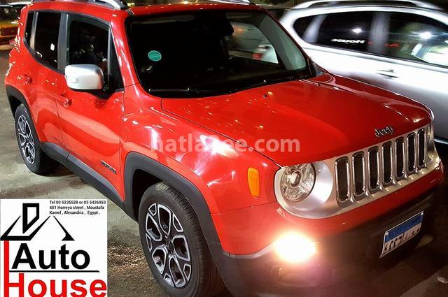 renegade jeep 2016 alexandria red 1284236 car for sale hatla2ee. Black Bedroom Furniture Sets. Home Design Ideas