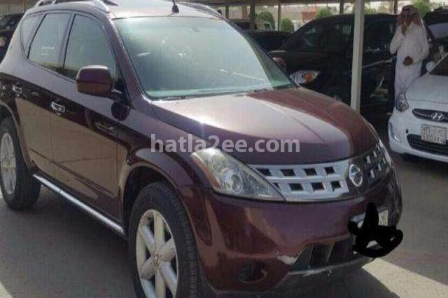 Murano Nissan 2008 Riyadh Red 1315424 - Car for sale : Hatla2ee