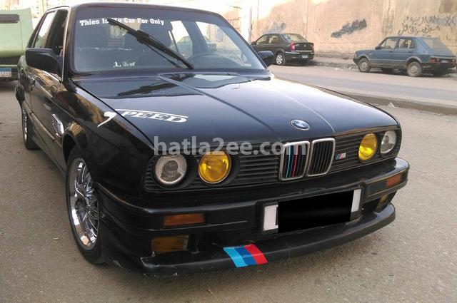 325 Bmw 1989 Heliopolis Black 1384158 Car For Sale Hatla2ee