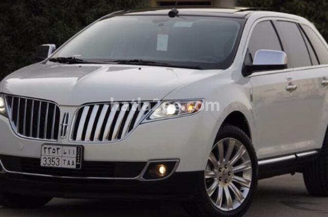 MKX Lincoln أبيض