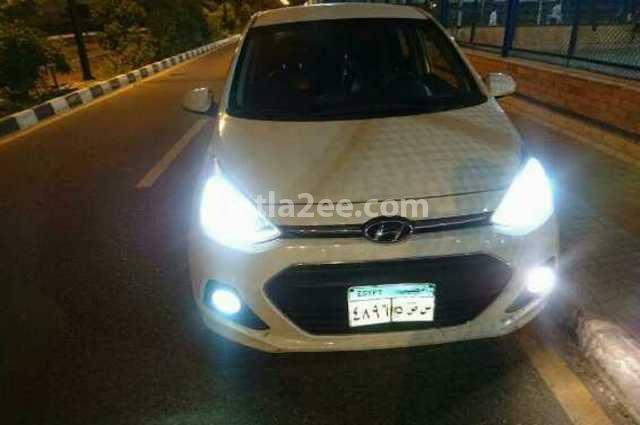 Grand i10 Hyundai أبيض