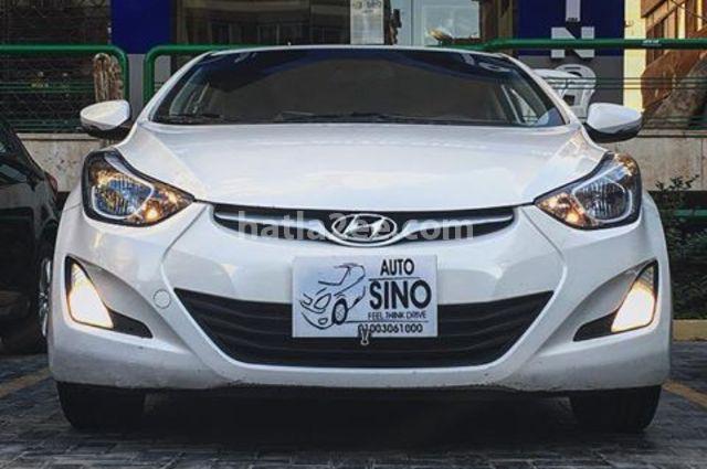 Elantra hyundai 2015 nasr city white 1400742 car for for Hyundai motor finance fax number