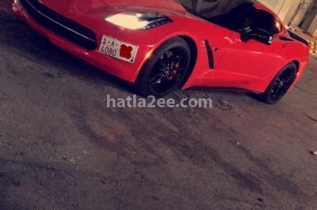 Corvette Chevrolet احمر