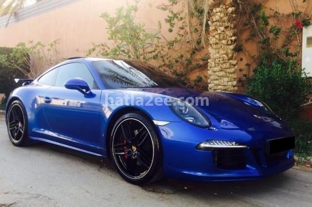 911 Porsche أزرق