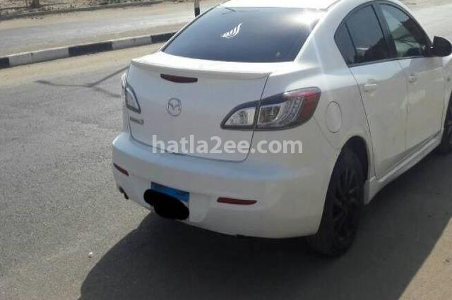 mazda 3 mazda 2014 cairo white 1510170 car for sale hatla2ee. Black Bedroom Furniture Sets. Home Design Ideas