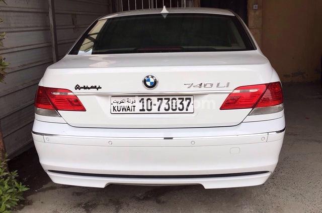 740 BMW 2006 Kuwait City White 1540462