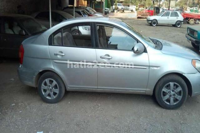 Accent hyundai 2007 cairo silver 1560826 car for sale for Hyundai motor finance fax number
