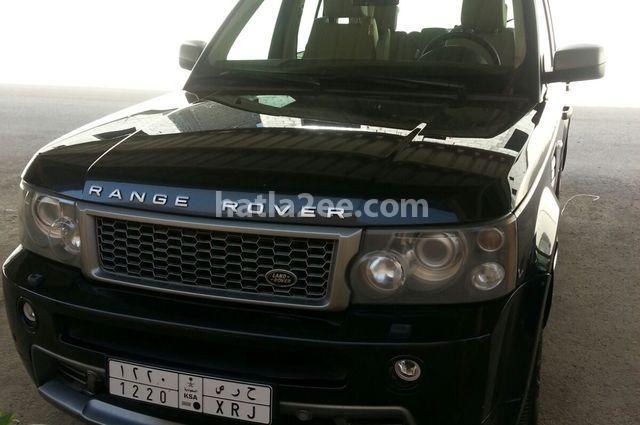 Sport Land Rover أسود