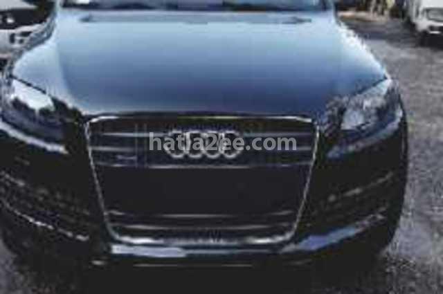 Q7 Audi أسود