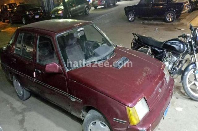 Zaz Daewoo Dark red