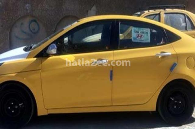 Accent Hyundai اصفر