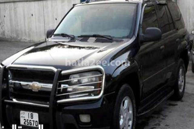 Trial Blazer Chevrolet أسود
