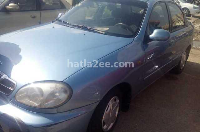 Lanos Daewoo 2007 Cairo Cyan 1802473 - Car for sale : Hatla2ee