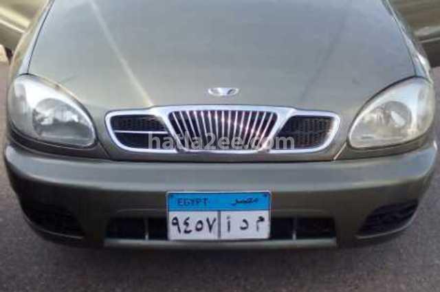 Lanos Daewoo 2005 Monufia Green 1831408 - Car for sale : Hatla2ee