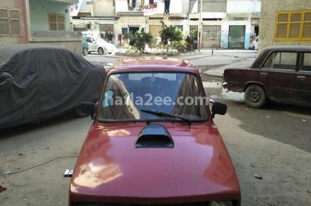 127 Fiat احمر غامق