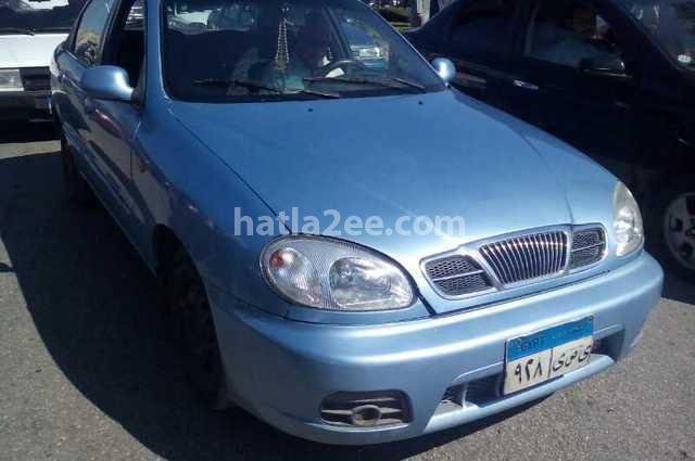 Lanos Daewoo 2007 Cairo Cyan 1850052 - Car for sale : Hatla2ee