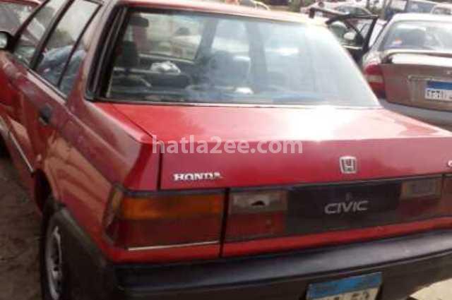 Civic honda 1987 cairo red 1850964 car for sale hatla2ee for Honda roadside phone number