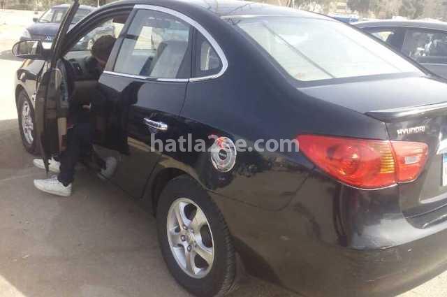 Elantra Hyundai 2008 Cairo Black 1863424 Car For Sale