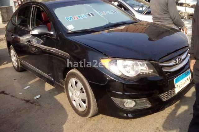 Elantra Hyundai 2017 Cairo Black 1872123 Car For Sale Hatla2ee