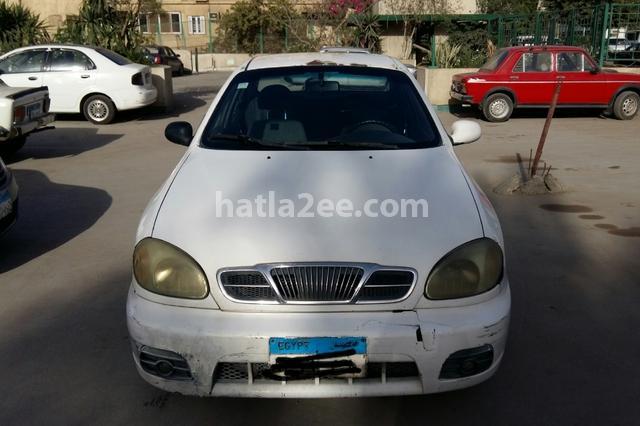 Lanos 2 Daewoo 2005 Giza White 1882018 - Car for sale : Hatla2ee