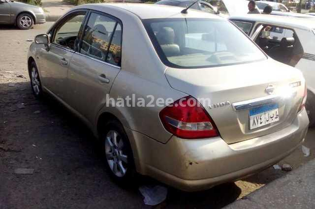Tiida Nissan 2009 Cairo Gold 1886734 - Car for sale : Hatla2ee