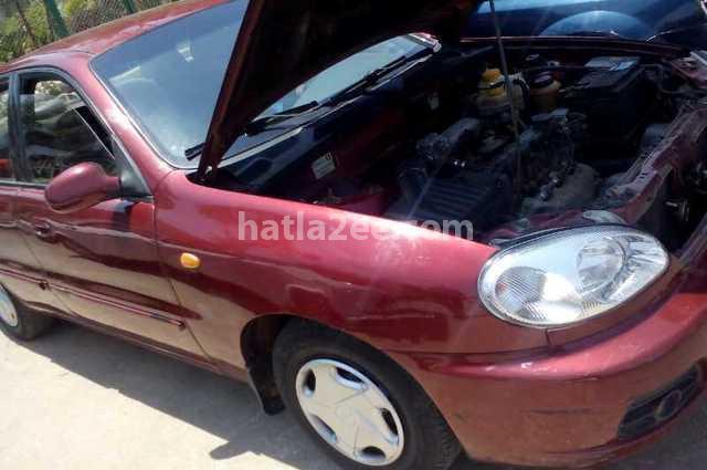 Lanos Daewoo 2007 Cairo Red 1921858 - Car for sale : Hatla2ee