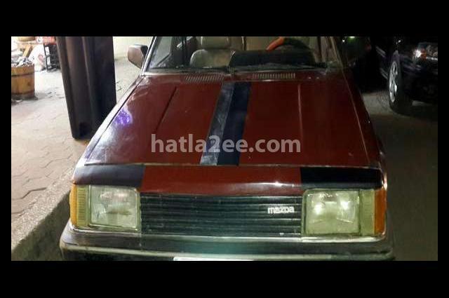 323 Mazda بني