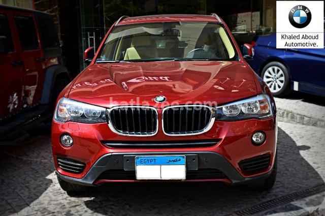 X3 BMW احمر غامق