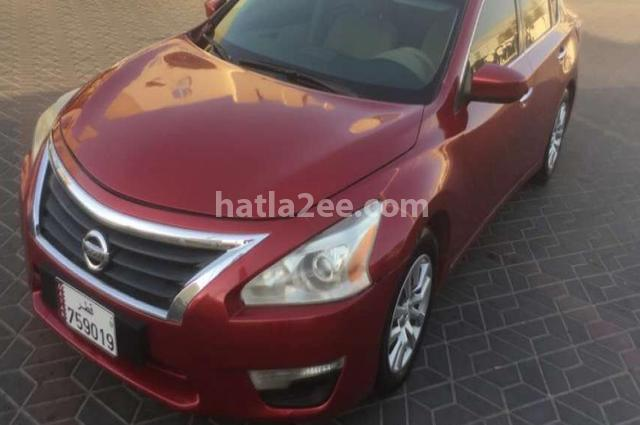 Altima Nissan 2014 Doha Dark Red 2013891 Car For Sale Hatla2ee