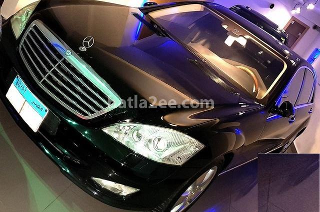 S 500 Mercedes أسود