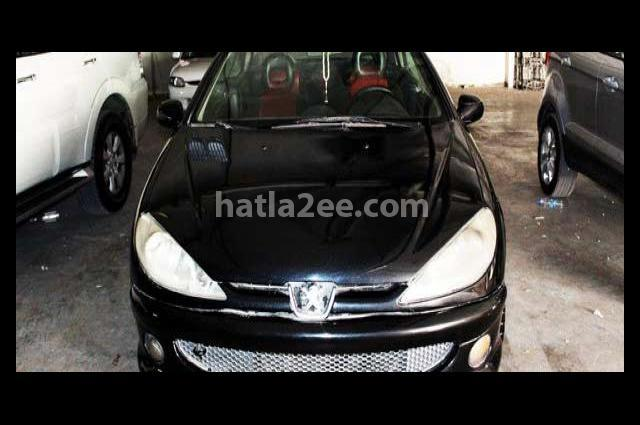 206 Peugeot 2004 Amman Black 2037309 - Car for sale : Hatla2ee