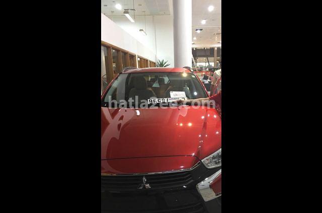 Asx Mitsubishi 2017 Dubai Red 2101794 Car For Sale Hatla2ee