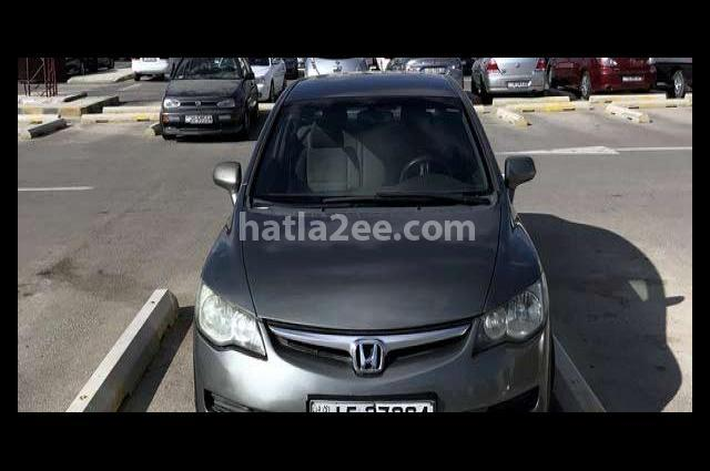 Civic Honda رمادي