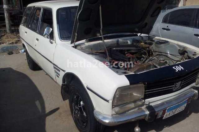 504 Peugeot 1981 Shobra White 2179508 Car For Sale Hatla2ee