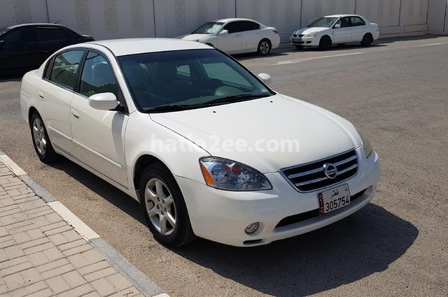 Altima Nissan 2005 Doha White 2182379 Car For Sale Hatla2ee