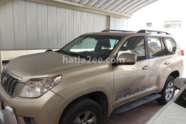 Prado Toyota ذهبي
