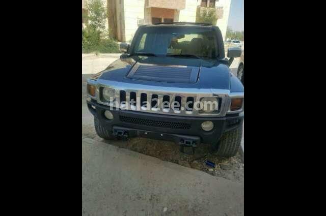H2 Hummer أسود