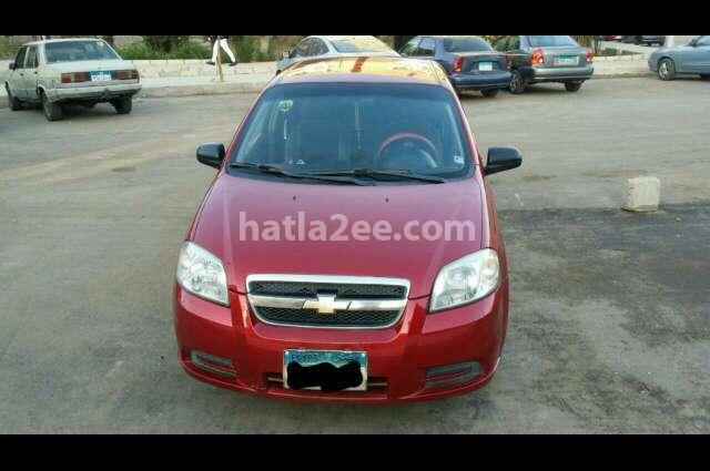 Aveo Chevrolet 2012 New Cairo Red 2252996 Car For Sale Hatla2ee