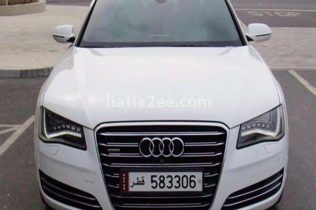 A8 Audi أبيض