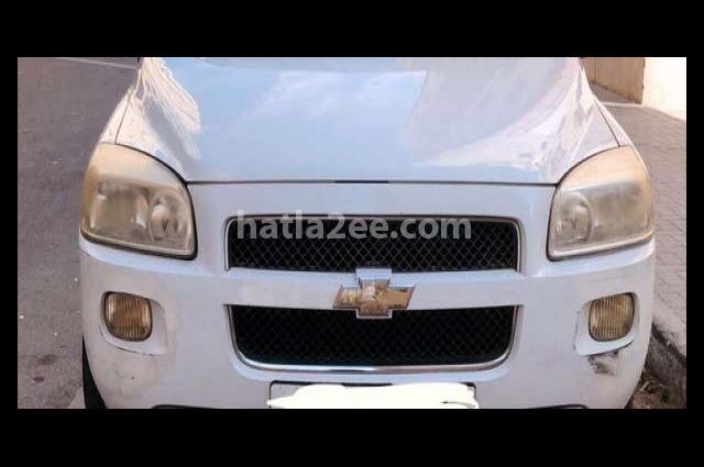 Uplander Chevrolet أبيض