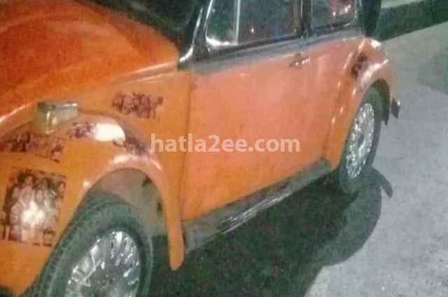 Beetle Volkswagen برتقالى