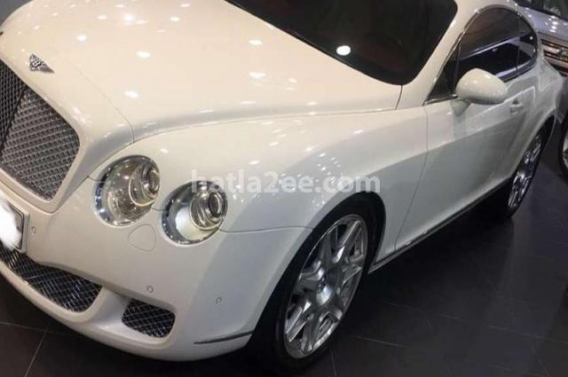 Continental GT Bentley White