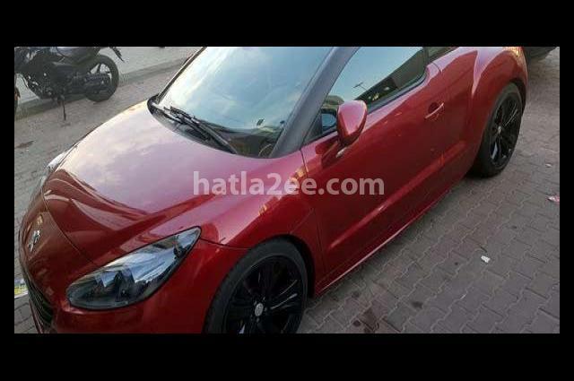 RCZ Peugeot احمر