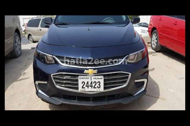 Malibu Chevrolet أزرق
