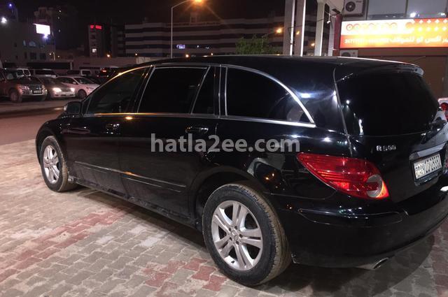 R Class Mercedes أسود
