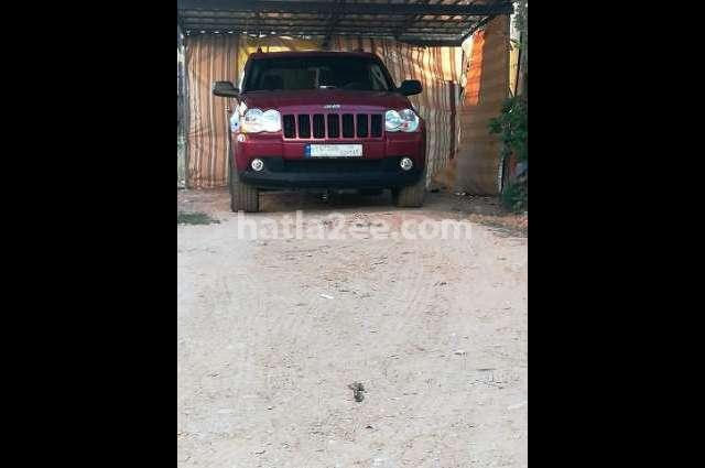 Cherokee Jeep Red