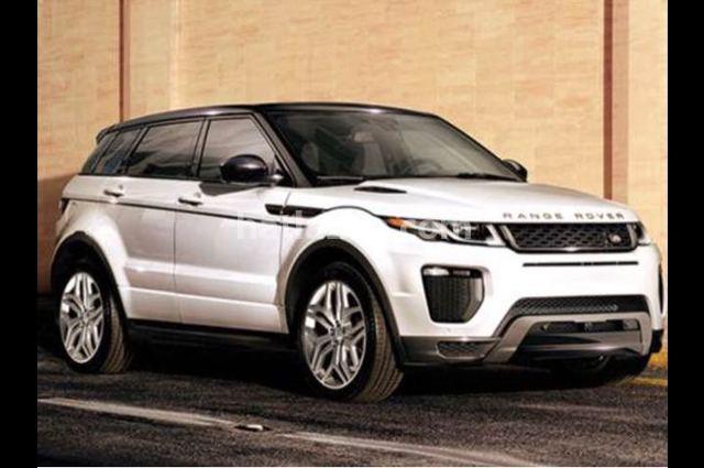 Evoque Land Rover أبيض