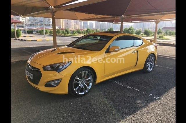 Coupe Hyundai اصفر