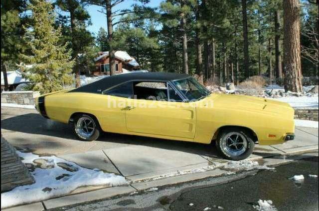 Challenger Dodge Yellow